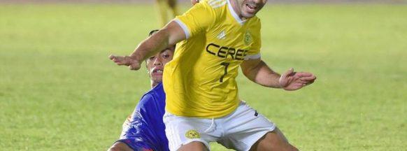 Marañon brace seals Ceres FC's  5-0 win over Stallion Laguna