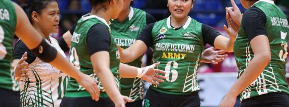 PacificTown-Army beats BanKo  Perlas in the Open Conference