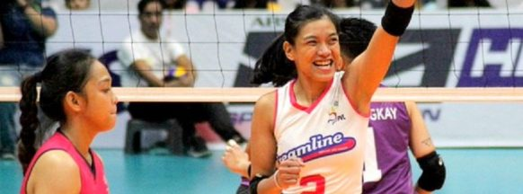 Creamline remains unbeaten  in the Open Conference