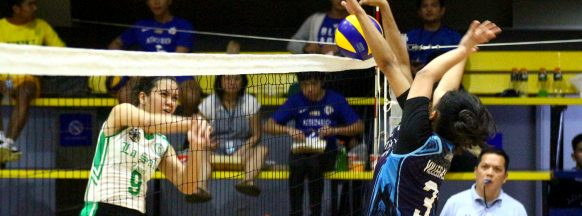 DLSZ beats Adamson in UAAP girls' volleyball