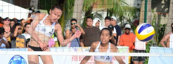 Negrense wins Surigao del Sur  beach volleyball competition