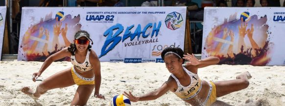 UST, DLSU, FEU go 3-0 in UAAP women's beach volleyball