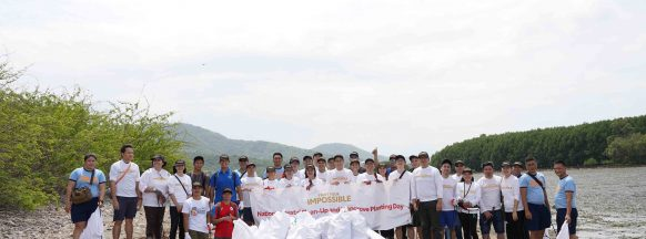 Toyota starts impossible with simultaneous  national coastal clean-up and mangrove planting
