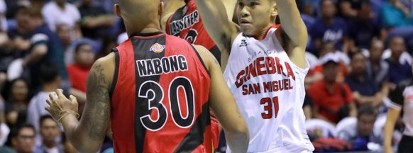 Barangay Ginebra escapes  San Miguel with 129-124 win
