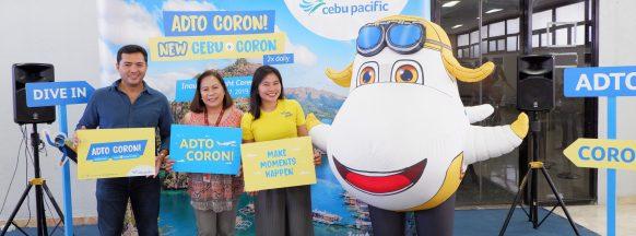 Cebu Pacific begins twice  daily Cebu-Busuanga flights