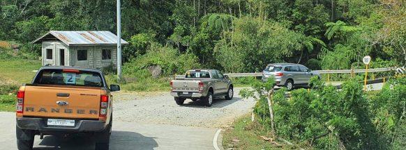 Driving the terrain of Don Salvador Benedicto
