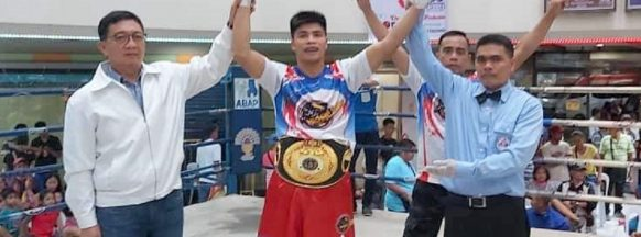 Negrense boxer wins ABF title in one round