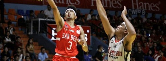 San Beda goes 15-0 in the NCAA