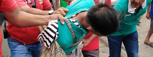 Thief mauled by bystanders in Bacolod City