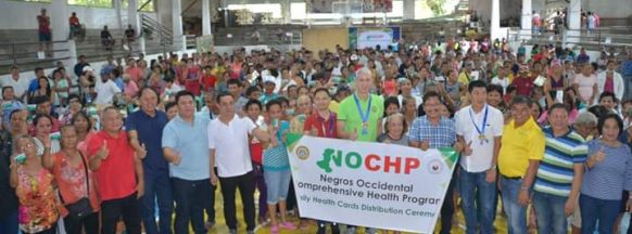 3rd District LGUs receive NOCHP cards