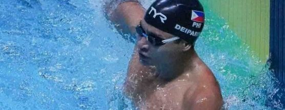Deiparine ends Philippines' 10-year  gold medal drought in swimming