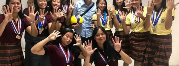 LSIS wins girls' volleyball  competition in Ilocos Sur