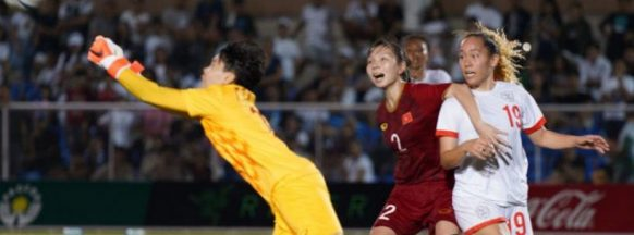 Vietnam boots the Philippines in women's football
