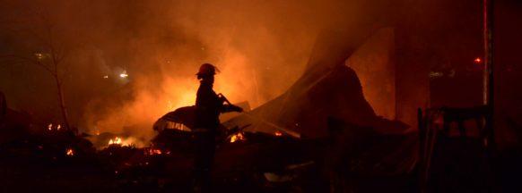 10 Iloilo City bunkhouses razed by fire