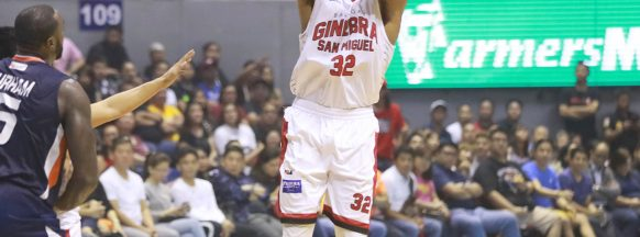 Ginebra wins Governors'  Cup finals opener