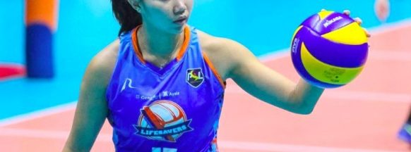 Ilongga volleyball player signs  with the Cignal HD Spikers