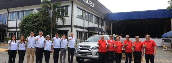 Isuzu PH donates vehicle  to Philippine Red Cross