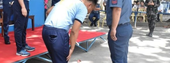 Bacolod City police officers undergo BMI validation