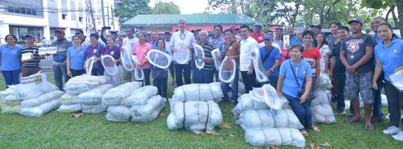 Over P2M worth of livelihood projects  provided for Negrense fisherfolk
