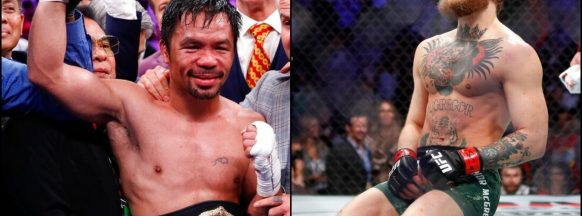 Pacquiao signs with same  management firm as McGregor