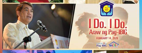 Pag-IBIG Fund celebrates  Araw ng Pag-IBIG with 1,000  couples saying 'I Do, I Do'