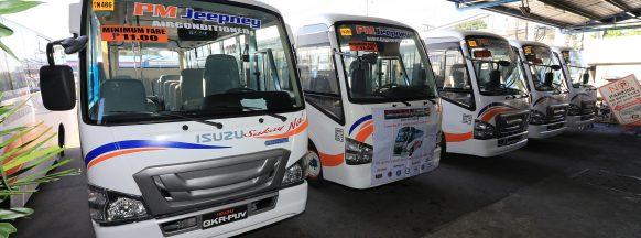 Isuzu PH turns over third batch of  modernized PUVs to PasangMasda