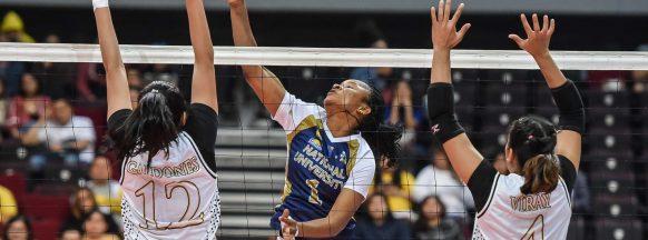NU beats UST in UAAP women's volleyball