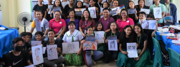 Therapeutic art workshop held in Iloilo City
