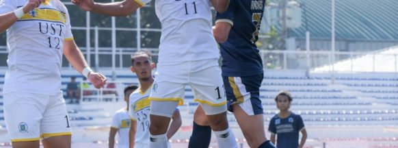 UST opens UAAP football  season with win over NU