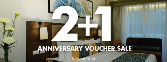 2+1 Anniversary Voucher Sale of Belmont Hotel Boracay