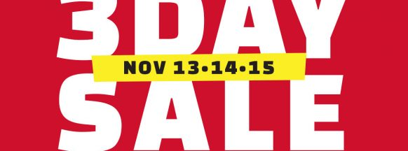 THE SM STORE BACOLOD'S 3-DAY SALE