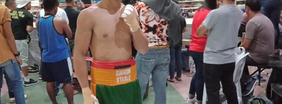 Bacolodnon Delos Santos fights Barriga on Dec. 18
