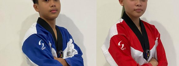 Negrense jins shine in online taekwondo tourney