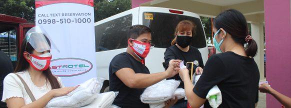 Astrotel sends aid to Marikina typhoon victims