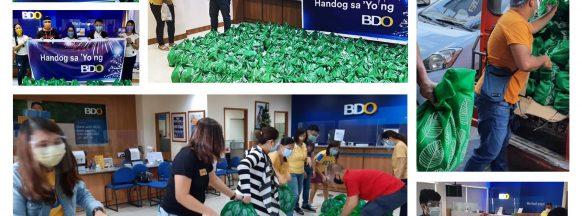 BDO employees uphold volunteerism via 'Handog Sa 'Yo' initiative
