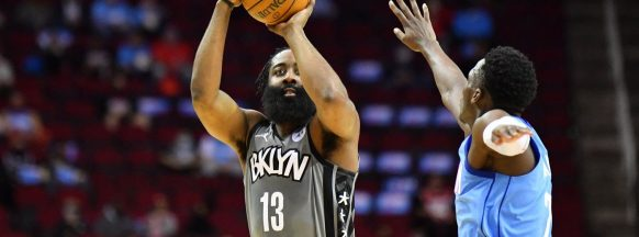 Harden jeered, Brooklyn wallops Houston
