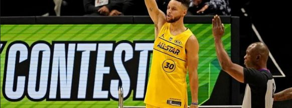 Old but gold Steph Curry is NBA's 3-pt king anew