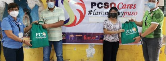 PCSO brings assistance to fire  victims in Quezon City and Tondo