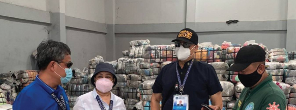 P7-M worth of 'ukay- ukay' seized in Bacolod