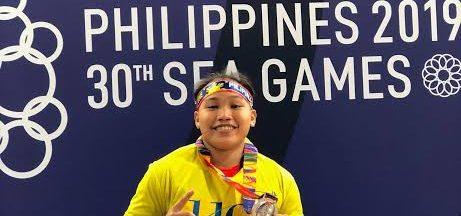 Pinay lifter Ando clinches Tokyo Olympics slot
