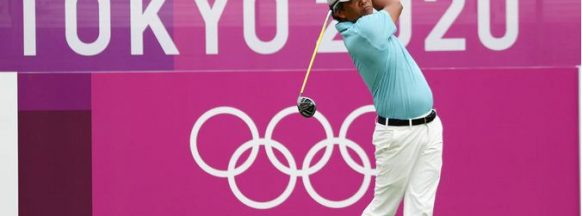 2020 TOKYO OLYMPICS   Negrense Pagunsan tied  for 5th in golf opener