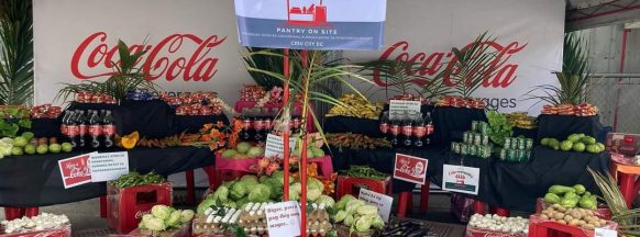 Uplifting community resilience, helping address  hunger through various Coca-Cola initiatives