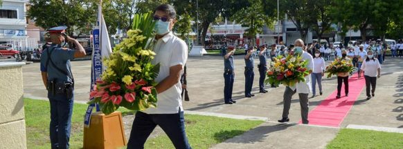 San Carlos City observes  National Heroes Day