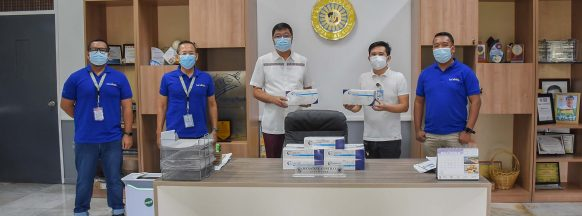 San Carlos City gov't gets antigen-rapid tests kits